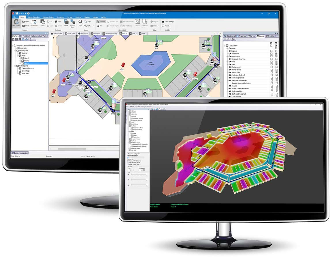 iBwave Wi-Fi - Design detailed networks in advanced 3D with prediction