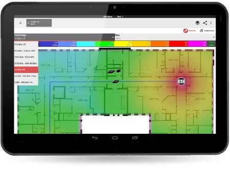 iBwave Mobile Planner - Design networks and test coverage on-site